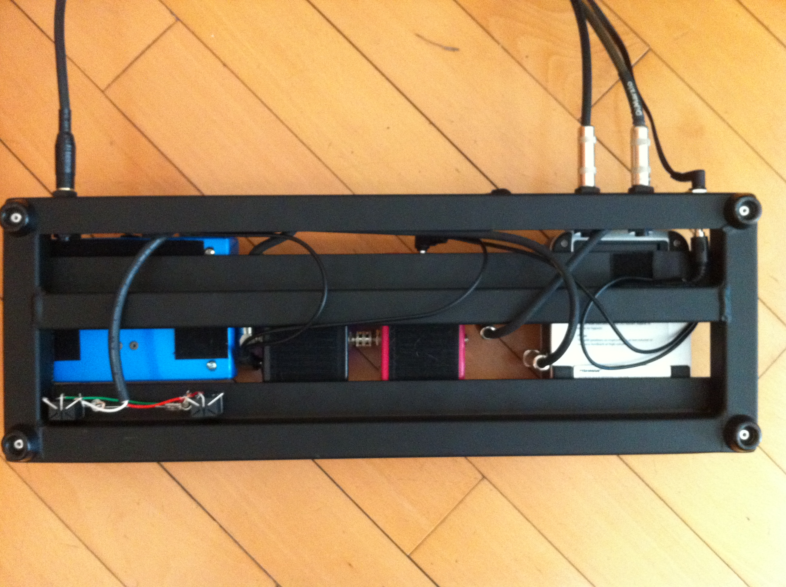 James David Low Play Pedal Board Wiring A