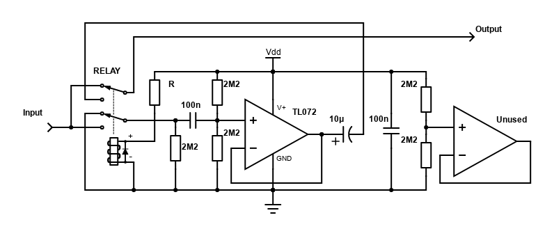 Buffer With Relay Bypass