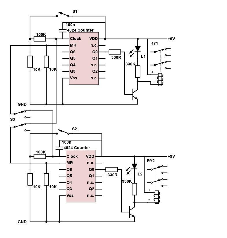 Flip-Flop Loop Switcher / Dual Pedal Switcher